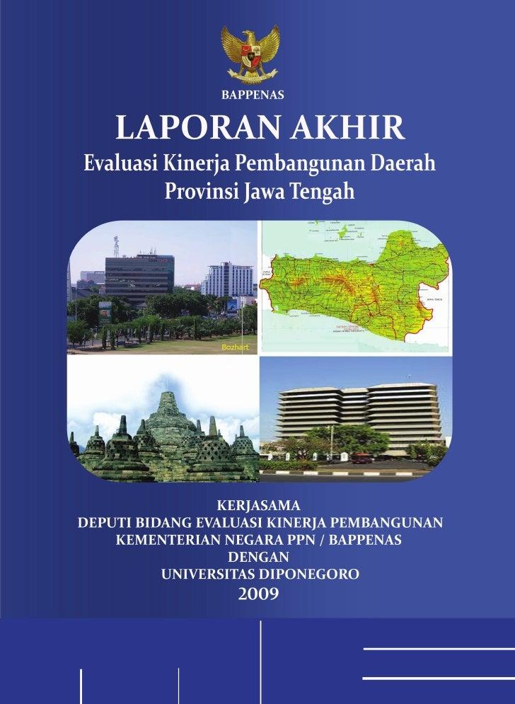 Laporan Akhir EKPD 2009 Jawa Tengah - UNDIP
