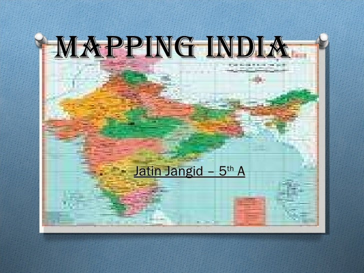 Jatin mapping india