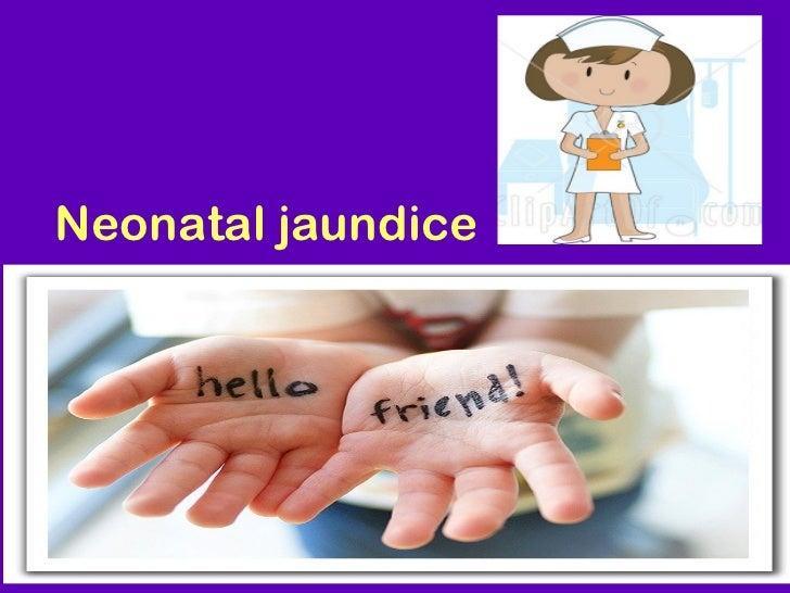 Jaundice neonatal