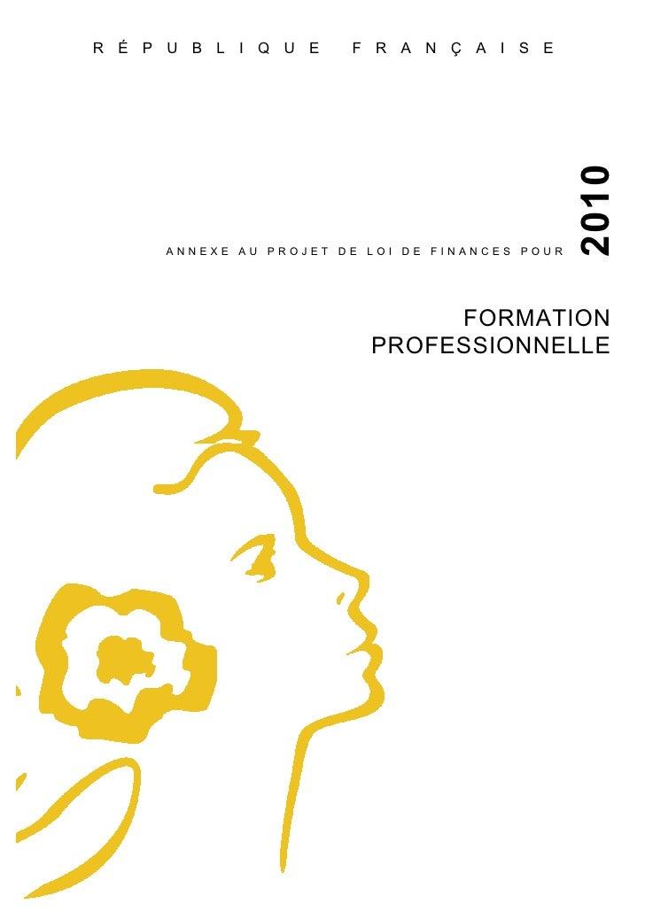 Jaune 2010 Formation Professionnelle