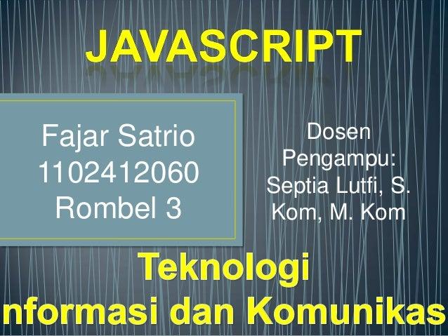 Fajar Satrio Java