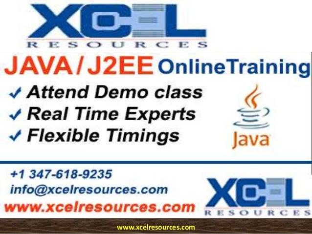 Java j2 ee online training - now attend  java-j2ee demo class