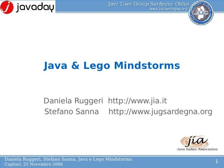 Java & LEGO Mindstorms