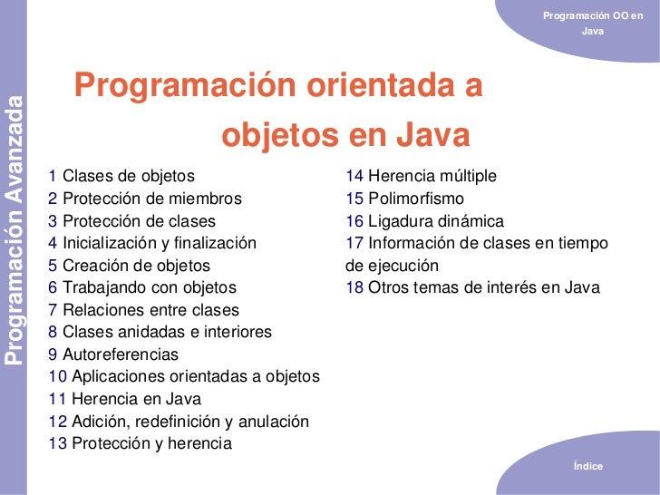 Programación OO en                                                                                               Java     ...