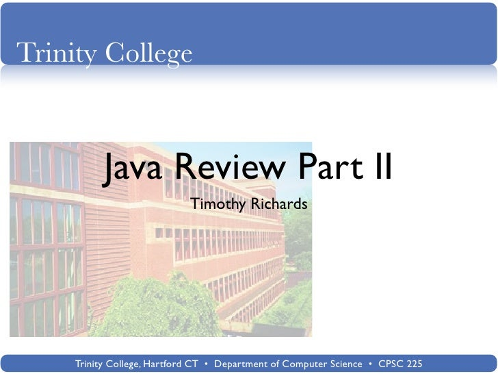 Java review-2