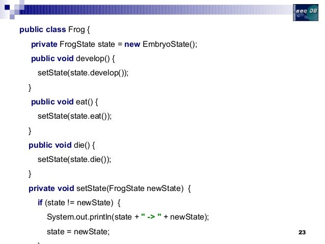Java Design Patterns: The State Pattern