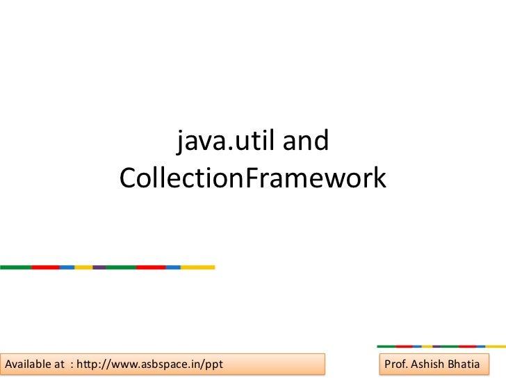 Understanding Date Handling and Collection Framework