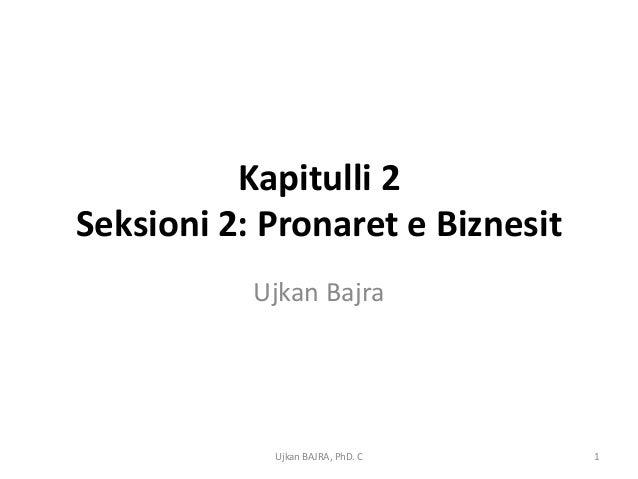 Java 4 pronaret e biznesit