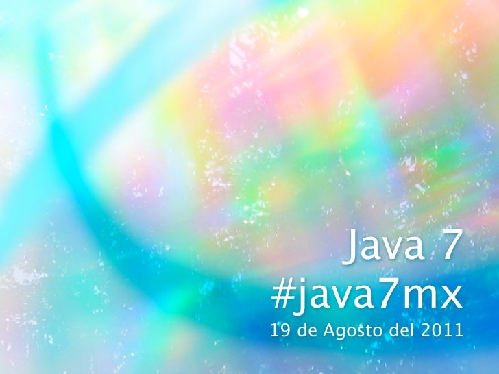 Groovy in Java7mx