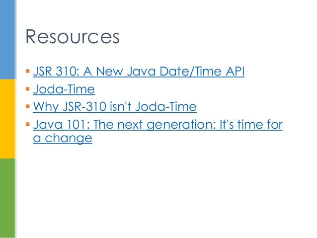 Java 8 Date and Time API Changes (Project Kenai) - HowToDoInJava