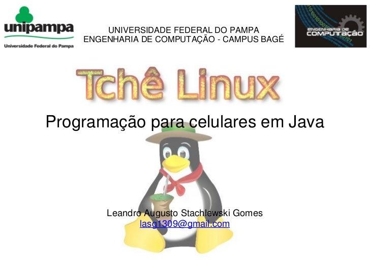 Programação para celular em JAVA - Leandro Stachlewski