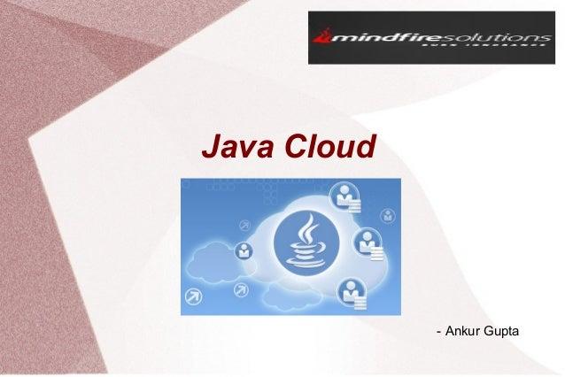 Basics of Java Cloud