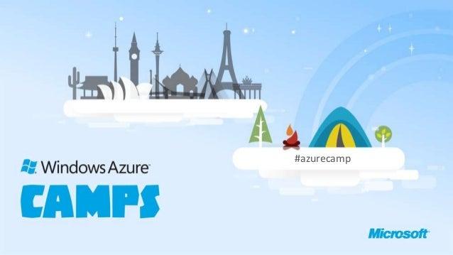 #azurecamp
