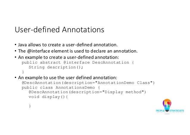 Define annotation