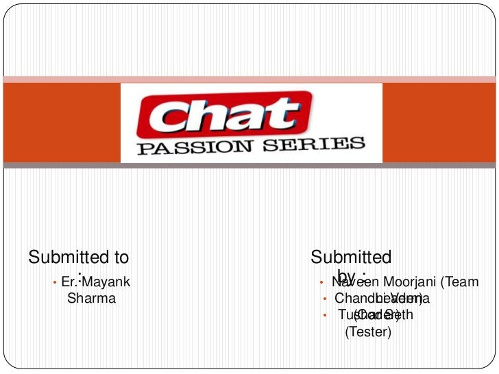 Chat Passion Series