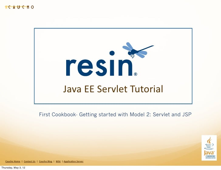 Java EE Servlet JSP Tutorial- Cookbook 1