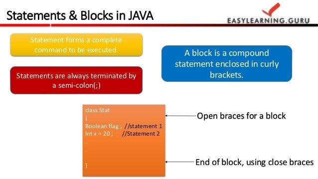 Java Essentials For Hadoop