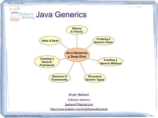 Java Generics: a deep dive