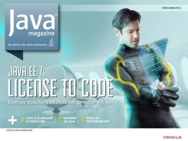 Javamagazine Mayo Junio 2013