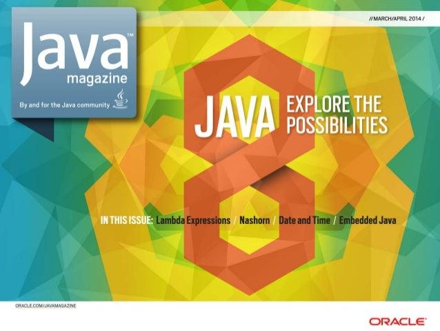 JavaMagazine - Java SE 8 - 2014-03-04