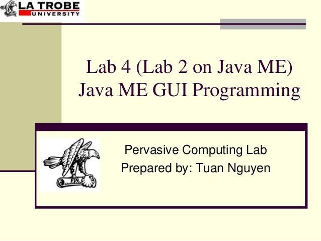 Java me lab2-slides (gui programming)