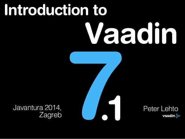 Javantura Zagreb 2014 - Vaadin - Peter Lehto