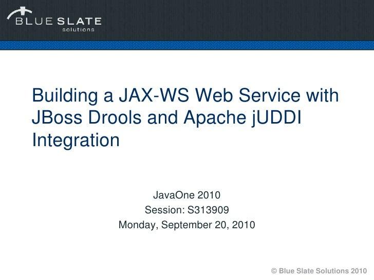 Java one2010 presentation-s313909