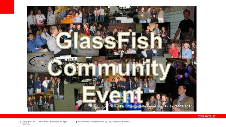 GlassFish Community Update @ JavaOne 2011