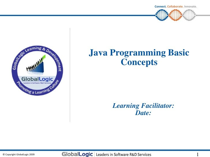 Connect. Collaborate. Innovate.                               Java Programming Basic                                      ...