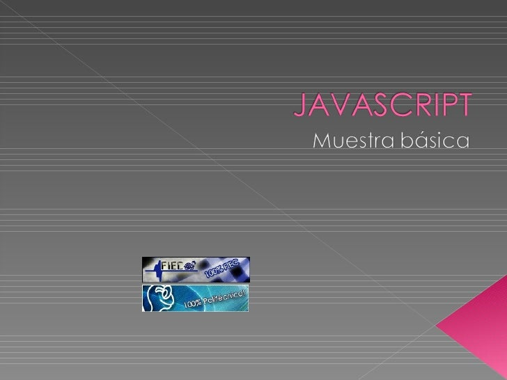Javascript muy basico