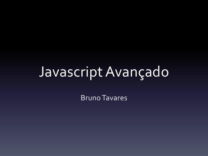 Javascript Avançado