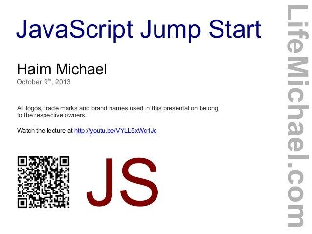 JavaScript Jump Start
