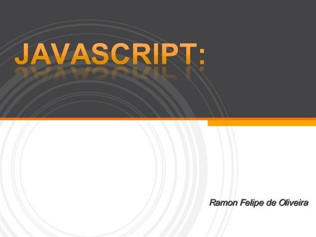 Javascript semana computação