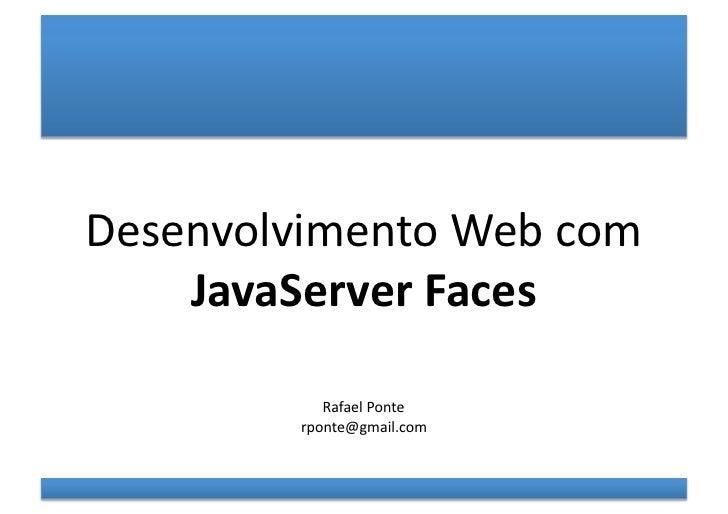 Curso de Java server faces (JSF)