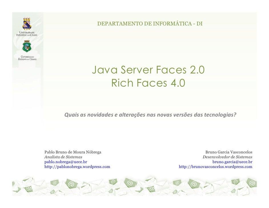Java Server Faces 2 & Rich Faces 4