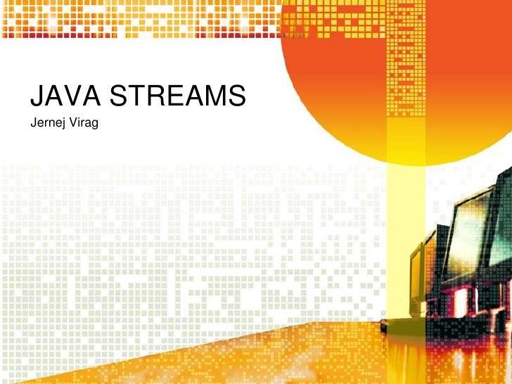 Java stereams