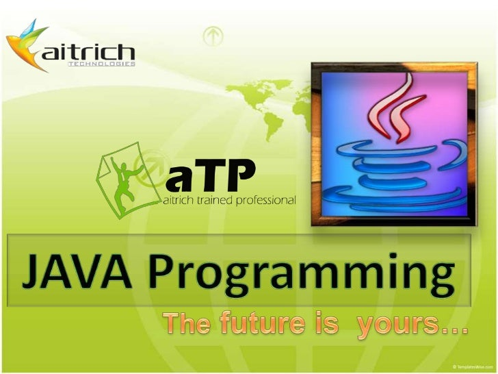 Java language is the most popularprogramming language in use today by manymeasures.      Portability across hardware platf...