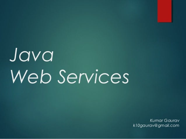 writing java web services Intertech delivers best-in-class web services training courses including how it can ease the task of writing java clients against commercial web services and how the wsgen utility figures in the distinction between document-style and rpc-style web services.