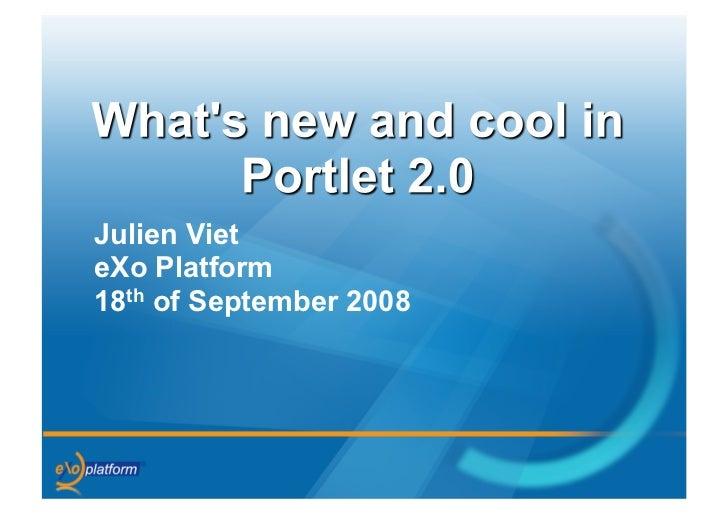 Julien Viet eXo Platform 18th of September 2008