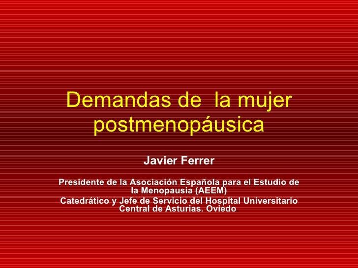 Javier Ferrer Barriendos