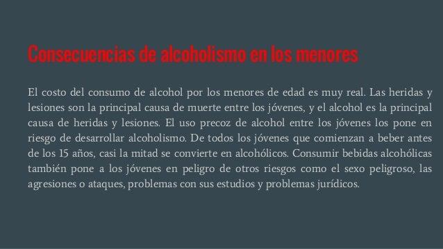 Los cardenales en el cuerpo al alcoholismo