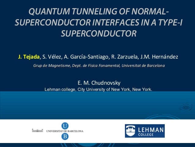 Quantum Tunneling of Normal-Superconductor Interfaces in a Type-I Superconductor