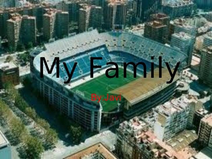 Javi's family