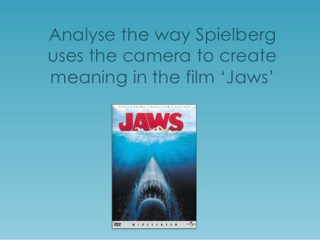 Jaws Camera-shots Analysis