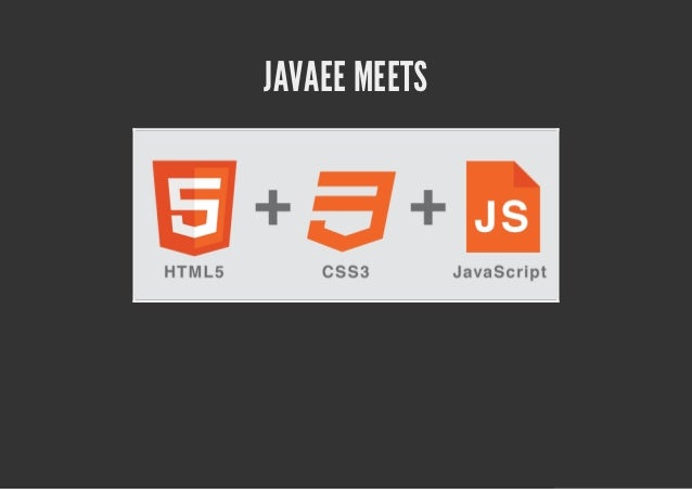 HTML alchemy: the secrets of mixing JavaScript and Java EE - Matthias Wessendorf