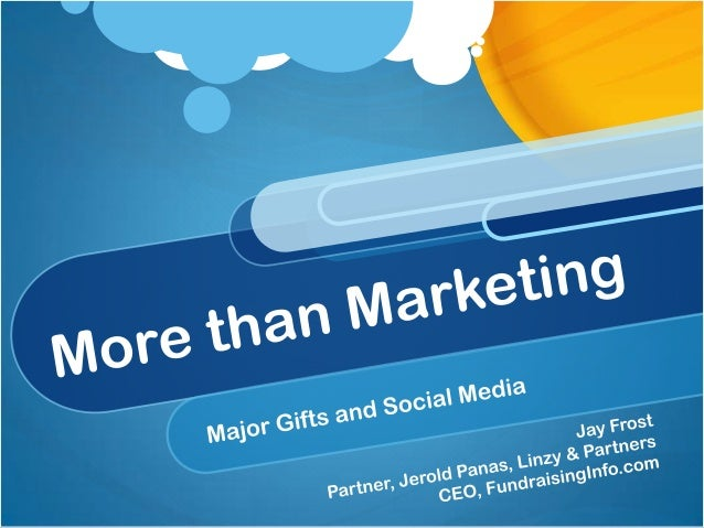 Social Media Fundraising:Plan or Accident?