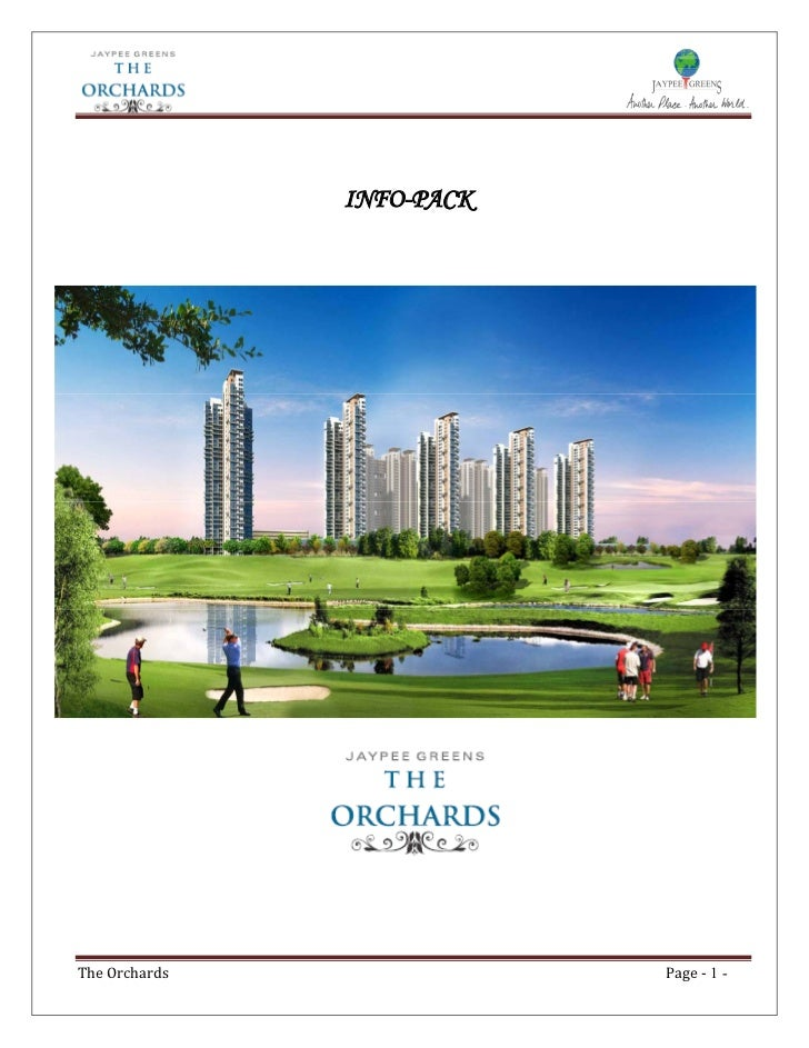 Book@9212612173 Jaypee Greens The Orchards
