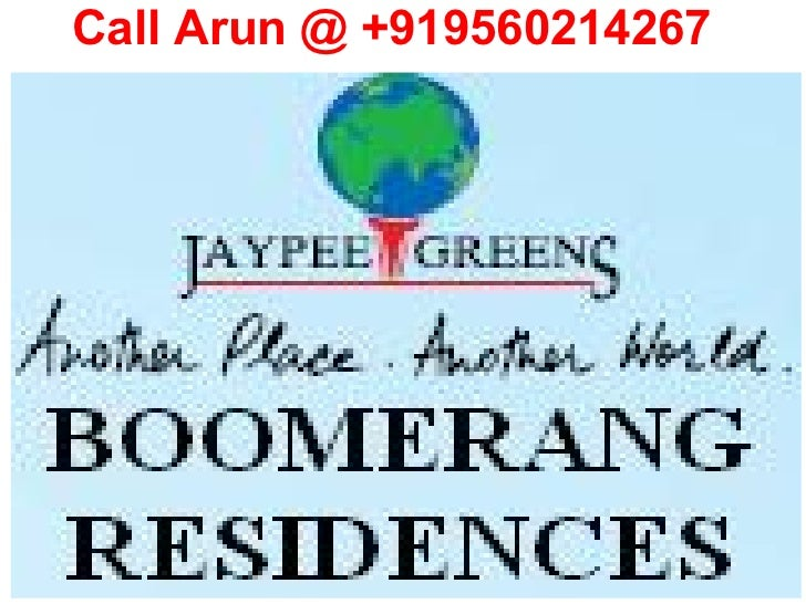 Jaypee Greens Boomerang Residences Sector128 Noida Location Map Price List Floor Payment Plan Review