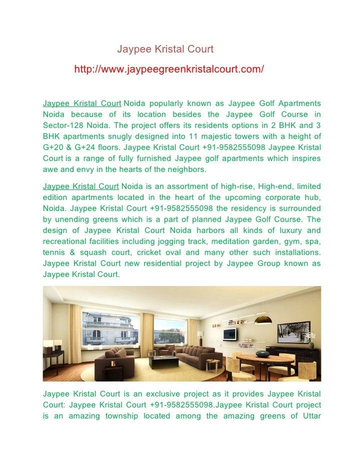 Jaypee krystal court
