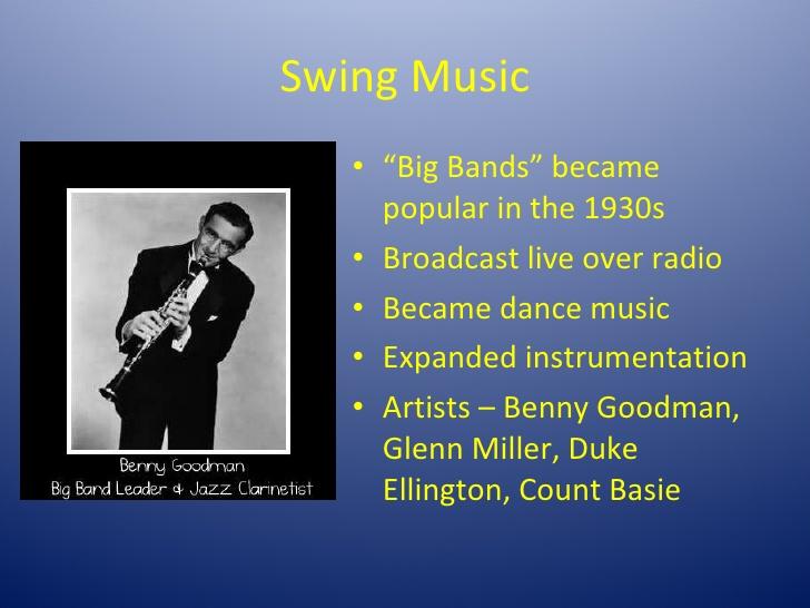 brief history of swing music 2